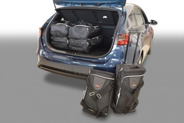 Car-Bags Kia Cee'd Reisetaschen-Set (CD) ab 2018 mit verstellbarem Ladebooden in oberer Position | 3x46l + 3x29l