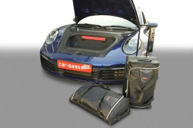 Car-Bags Porsche 911 Reisetaschen-Set (992) ab 2019 (2WD Links- und Rechtslenker + 4 WD nur Linkslenker) | 1x65l + 1x48l