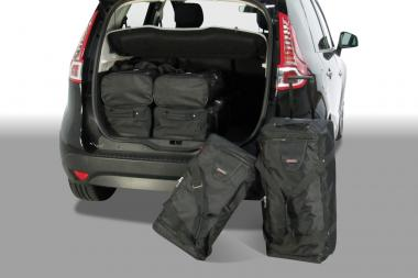 Car-Bags Renault Scénic Reisetaschen-Set III 2009-2016 | 3x81l + 3x46l