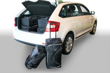 Car-Bags Skoda Rapid Spaceback Reisetaschen-Set (NH1) 2013-2019 | 3x62l + 3x35l