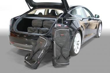 Car-Bags Tesla Model S Reisetaschen-Set ab 2012 | 3x82l + 3x42l
