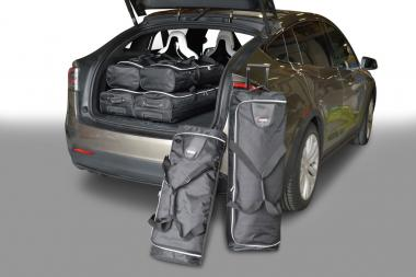 Car-Bags Tesla Model X Reisetaschen-Set ab 2015 3x71l + 3x52l