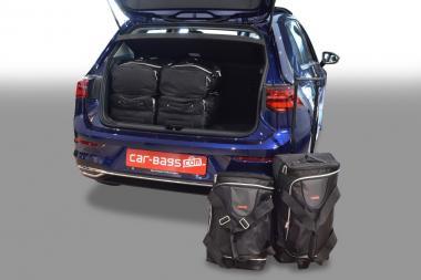 Car-Bags Volkswagen Golf VIII Reisetaschen-Set (CD) ab 2020 | 3x47l + 3x49l