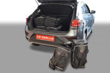 Car-Bags Volkswagen T-Cross Reisetaschen-Set ab 2018 mit verstellbarem Ladeboden in unterer Position|