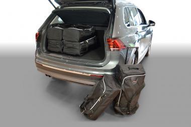 Car-Bags Volkswagen Tiguan II Reisetaschen-Set ab 2015 (hoher Ladeboden) | 3x60l + 3x37l