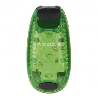 Coocazoo LED Sicherheits-Klemmleuchte Grün