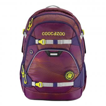 Coocazoo ScaleRale Schulrucksack Soniclights Purple