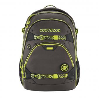 Coocazoo ScaleRale *TecCheck* Limited Edition Schulrucksack Neon Yellow