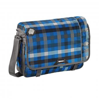Coocazoo HangDang Schultertasche Hip To Be Square Blue