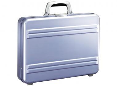Zero Halliburton Slimeline Collection Small Attache 3 Zoll polished blue