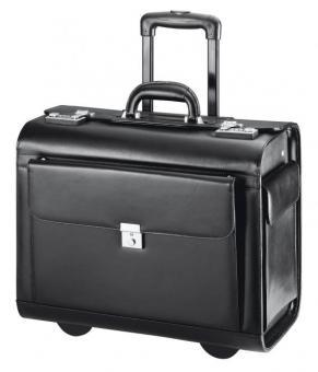 d&n Business & Travel Pilotenkoffer-Trolley 2870 schwarz