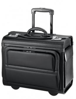 d&n Business & Travel Pilotenkoffer-Trolley 2872 schwarz