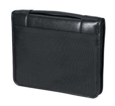 d&n Easy Business Schreibmappe mit Griff 5694 schwarz
