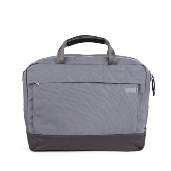 A E P Delta Classic Essential Work Bag mit Laptopfach Graphite Grey