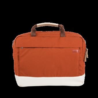 A E P Delta Classic Essential Work Bag mit Laptopfach Mars Red