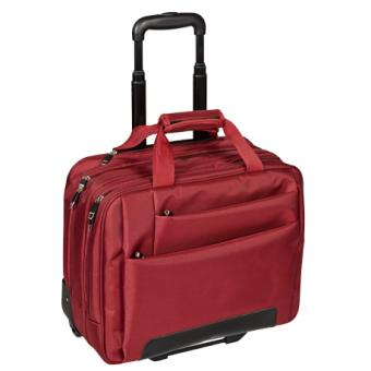 "Dermata Office Case 17"" Business Trolley 3479NY rot"