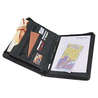 Dermata Leder-Schreibmappe 2685 braun