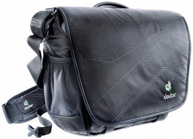 """Deuter Operate I Messenger-Bag 13"""" black-silver"""