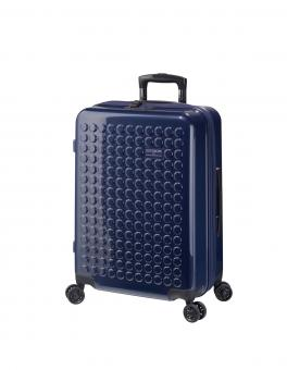 Dot-Drops Chapter 2 extra-light Trolley M 4R 63cm, kreativ individualisierbar Ink Blue