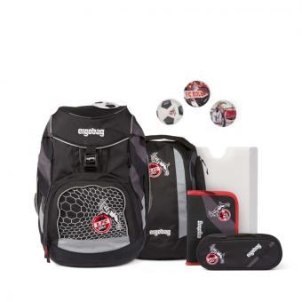 ergobag pack Fußball-Fieber, Schulrucksack-Set, 6-tlg. DomstürmBär