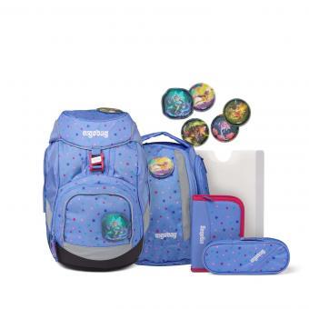 ergobag pack Schulrucksack-Set, 6-tlg. Bärzaubernd