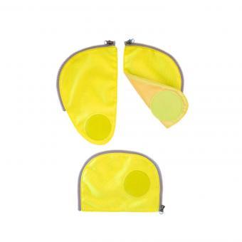 ergobag Schulzubehör pack Zip-Set, 3-tlg. 2019 und älter gelb
