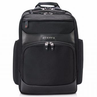Everki Onyx Premium Laptop-Rucksack, bis 15,6-Zoll Schwarz