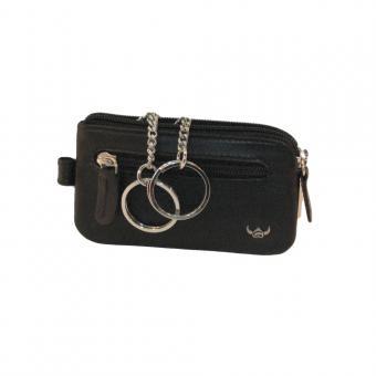 Golden Head Polo Reißverschluss-Schlüsseletui 5112-50 schwarz