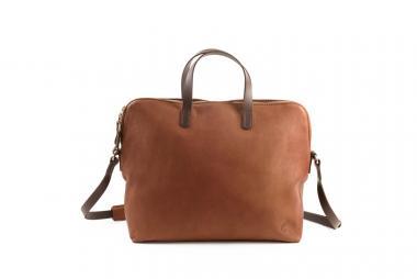 Harold's Postcase Businessbag cognac