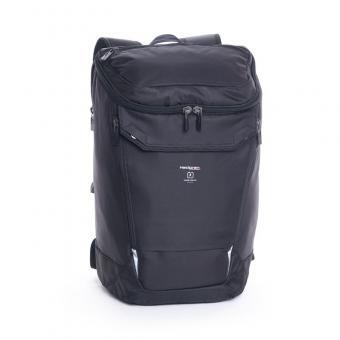 """Hedgren Link Bond Large Backpack with Rain Cover 15.6"""" Black"""