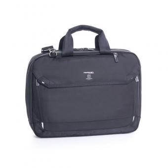 """Hedgren Link Hitch Slim 3-Way Briefcase 15"""" Black"""