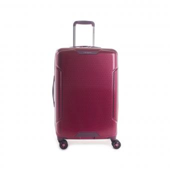 Hedgren Freestyle Glide M Expandable 4-Rollen-Trolley 67cm Beet Red