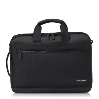 """Hedgren Next DISPLAY 3 Way Briefcase Backpack, 15,6"""" Black"""