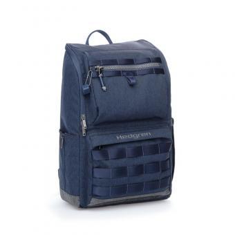 "Hedgren Knock Out TENNIN Backpack Medium mit Laptopfach 15.6"" Parisian Night Blue"
