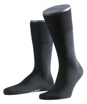 Falke Airport Herren Socken 45-46 black