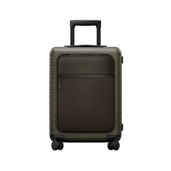 Horizn Studios Smart M5 Cabin Trolley mit Fronttasche Dark Olive