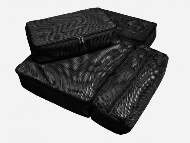 Horizn Studios Packing Cubes 4-teiliges Set All Black