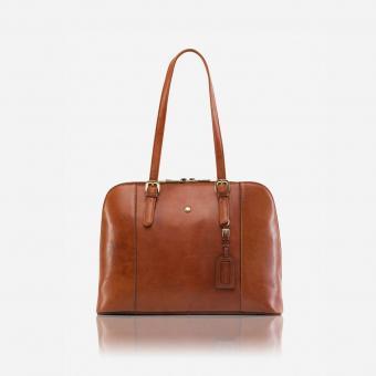 Jekyll & Hide MADRID Laptop Business-Handtasche TAN