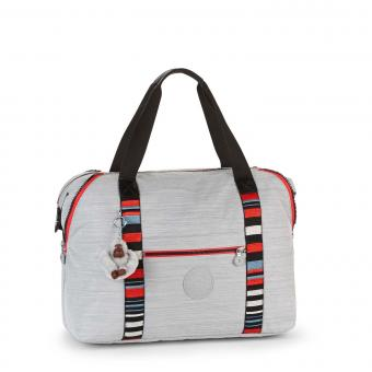 Kipling Art M Basic Plus Reisetasche Dazz Grey Str