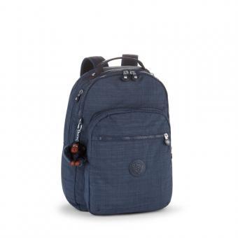 Kipling Clas Seoul Basic Plus Großer Rucksack Dazz True Blue