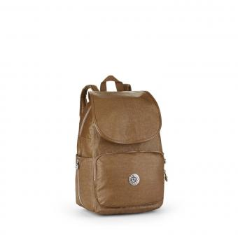 Kipling Cayenne Basic Twisted Kleiner Rucksack Twisted Brown