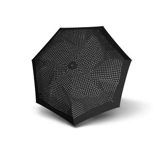 Knirps T.050 Medium Manual Taschenschirm bolero black ecru