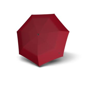 Knirps T.050 Medium Manual Taschenschirm dark red UV