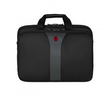 """Wenger Legacy Laptopcase 17"""" Black / Grey"""