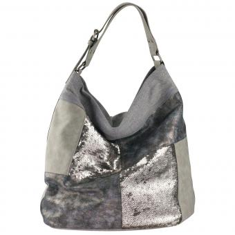 Louiz & Lou Light Up Shopper Silver