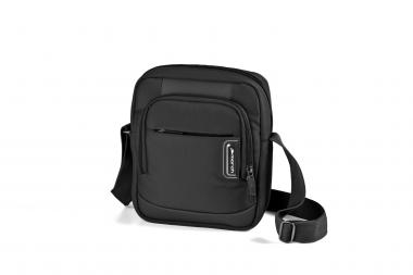 March bags get a'way Schultertasche black