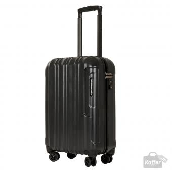 March Cosmopolitan Special Edition 4-Rollen-Trolley S black brushed alu look