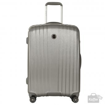 March everest Trolley M 4w Silver (Brushed)