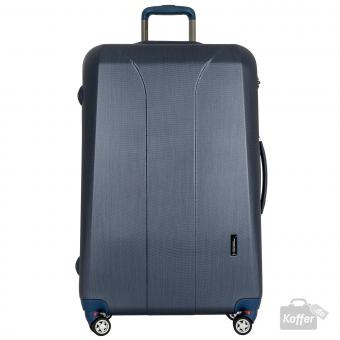 March new carat Trolley L 4W navy brushed