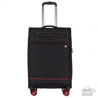 March shorttrack Trolley M 4w erweiterbar black/red
